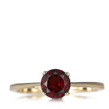1.14ct Garnet Solitaire Ring 9ct Gold