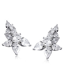 Elizabeth Taylor 7.3ct tw Simulated Diamond Ear Climbers