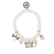 Bibi Bijoux Charm Stretch Bracelet