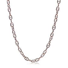 Bronzo Italia Oval Link Necklace