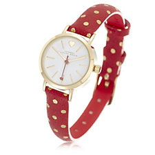 Johnny loves Rosie Polka Dot Strap Watch