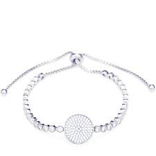 Frank Usher Crystal Pave Disc Friendship Bracelet