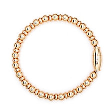 Bronzo Italia Beaded Magnetic 18cm Bracelet