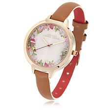Johnny Loves Rosie Vintage Floral Dial Watch