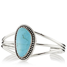 Nizhoni Turquoise Bangle Sterling Silver
