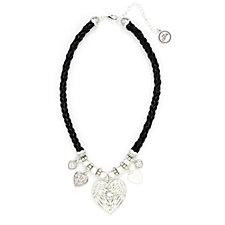 320737 - Bibi Bijoux Angel Wing Leather 52cm Necklace