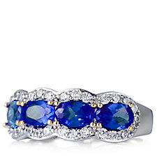 305938 - Elizabeth Taylor 1.6ct tw Simulated Gemstone Band Ring