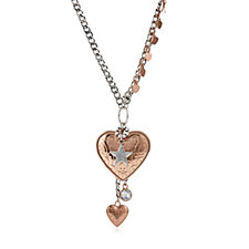 Bibi Bijoux Heart Pendant 49cm Necklace