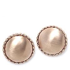 Frank Usher Circular Clip On Earrings