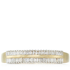 0.3ct Diamond Radiance Half Eternity Ring 9ct Gold