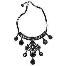Butler & Wilson Teardrop Faux Pearl 38cm Necklace