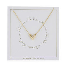 Johnny Loves Rosie Choice of Animal Necklace Gift Card