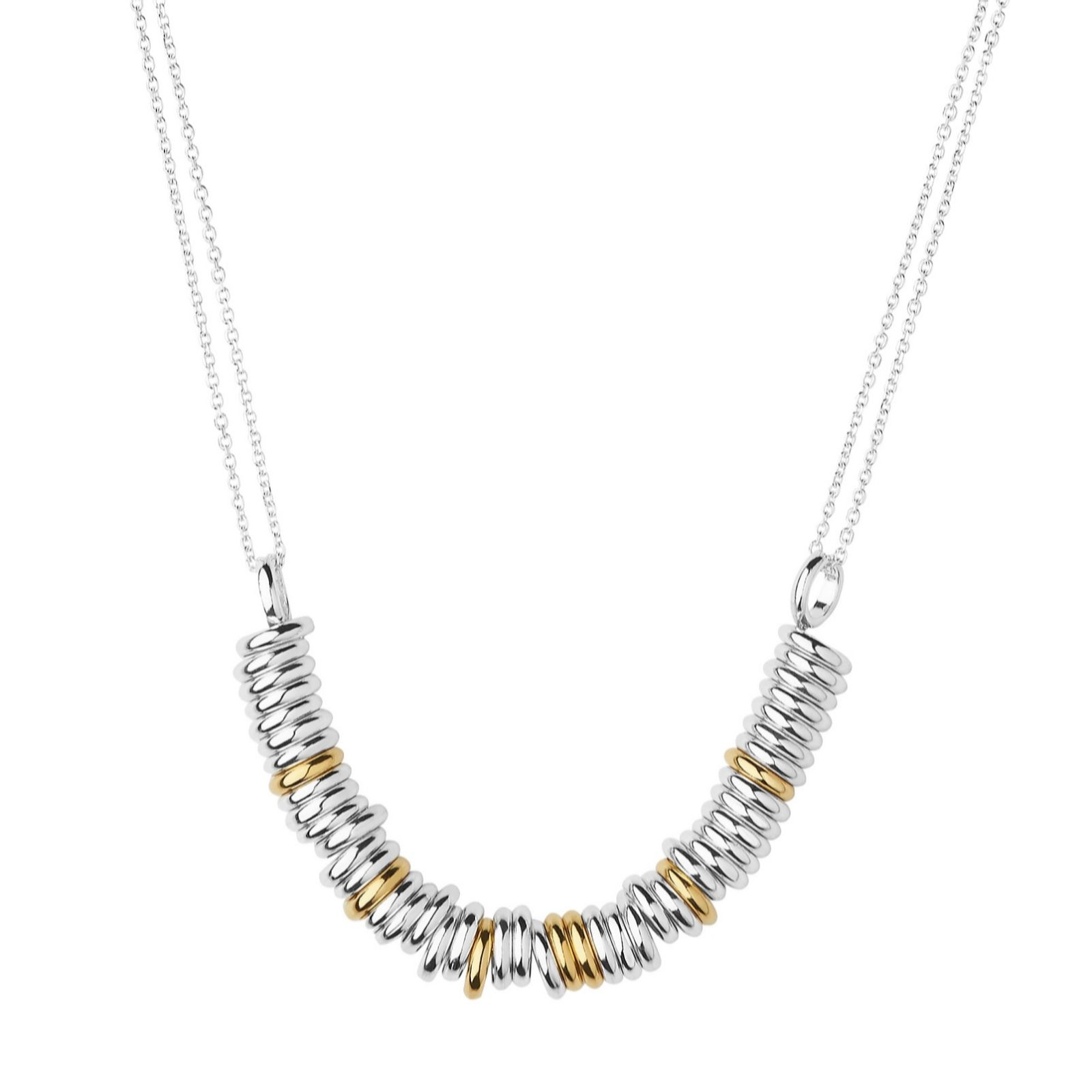 Links of London Essentials Sterling Silver Beaded Necklace of Length 39-45cm 586buVBqVY