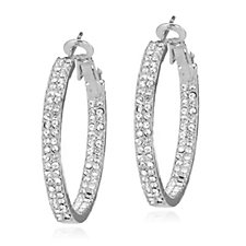 Loverocks Inside Out Hoop Earrings