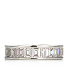 Elizabeth Taylor 4.2ct tw Simulated Diamond Eternity Band