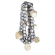 Bibi Bijoux Four Layer Charm Bracelet