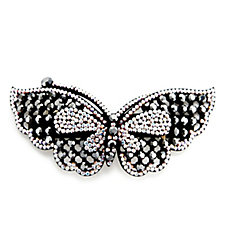 Butler & Wilson Jewelled Butterfly Hairclip