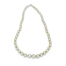 Honora 6.5-10mm Cultured Pearl 45cm Necklace Sterling Silver