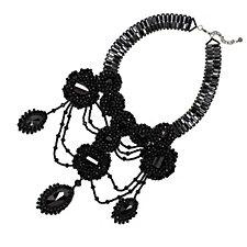 319341 - Butler & Wilson Couture Teardrop Bead 40cm Necklace