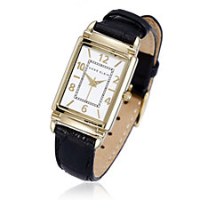 Anne Klein Elizabeth Quartz White Dial Watch Analogue Display Leather Strap