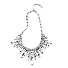 308042 - Frank Usher Crystal Spray 80cm Necklace