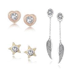 Bibi Bijoux Set of Three Multi Way Earrings