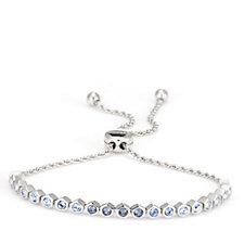Aurora Swarovski Crystal Honeycomb Friendship Bracelet