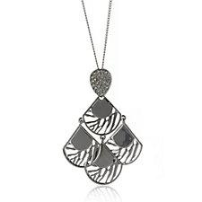 JM by Julien Macdonald Safari Collection Open Leaf 81cm Necklace