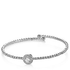 Nour Crystal Expandable Bangle