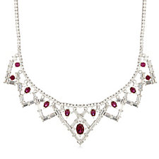 Elizabeth Taylor 55.5ct tw 'Legacy of Love' Simulated Ruby 43cm Necklace
