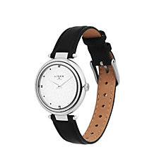 Links of London Timeless Ladies Sunray Dial Leather Strap Watch
