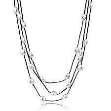 Frank Usher Layered Pebble 105cm Necklace