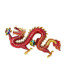 319343 - Butler & Wilson Couture Chinese Dragon Brooch