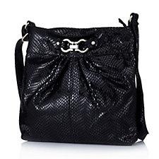 Frank Usher Leather Cross Body Bag