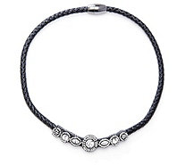Butler & Wilson Crystal Magnetic Cord 44cm Necklace - 305444