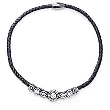 Butler & Wilson Crystal Magnetic Cord 44cm Necklace