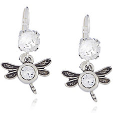 Bibi Bijoux Charm & Crystal Drop Earrings