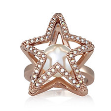 JM by Julien Macdonald VIP Collection Star Crystal Ring