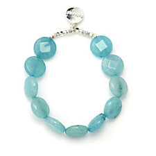 Bcharmd Reef Faceted Quartzite Bracelet