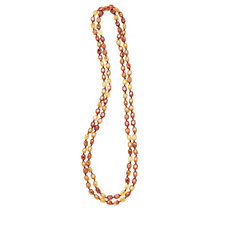 Lola Rose Ruby Rae Semi Precious Bead 147cm Necklace
