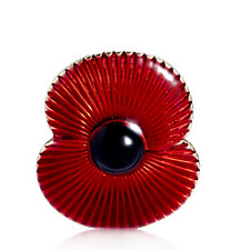 The Poppy Collection Unisex Brooch by Buckley London