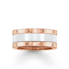 Thomas Sabo Glam & Soul Rose Gold Ring Sterling Silver
