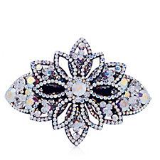 Butler & Wilson Five Petals Crystal Hairclip