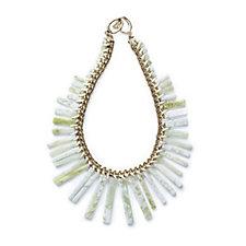 Lola Rose Margaux Statement Semi Precious Bead Collar 47cm Necklace