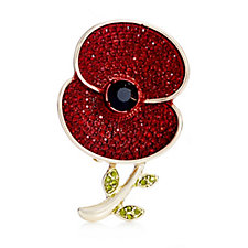 The 2016 Poppy Collection Sparkle Brooch by Buckley London