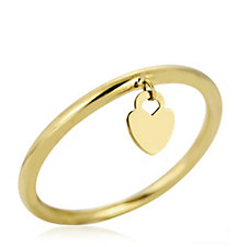 306548 - The Gold Room 9ct Gold Charm Drop Ring