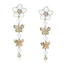 Elizabeth Taylor Dame Drop Earrings