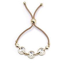 Aurora Swarovski Crystal Adjustable Friendship Bracelet
