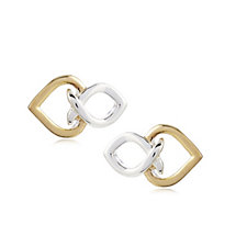 Links of London Infinite Love Stud Earrings Sterling Silver