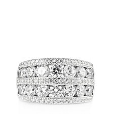 Michelle Mone for Diamonique 2.8ct tw Band Ring Sterling Silver